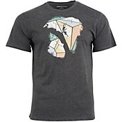 United by Blue Men's Geo Traverse Short Sleeve T-Shirt