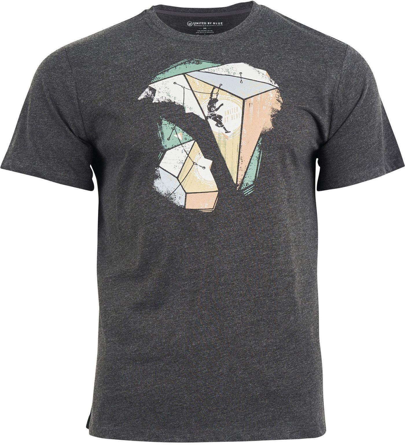 United by Blue Men's Geo Traverse Short Sleeve T-Shirt