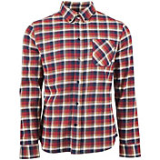United by Blue Men's Pitchstone Plaid Long Sleeve Shirt