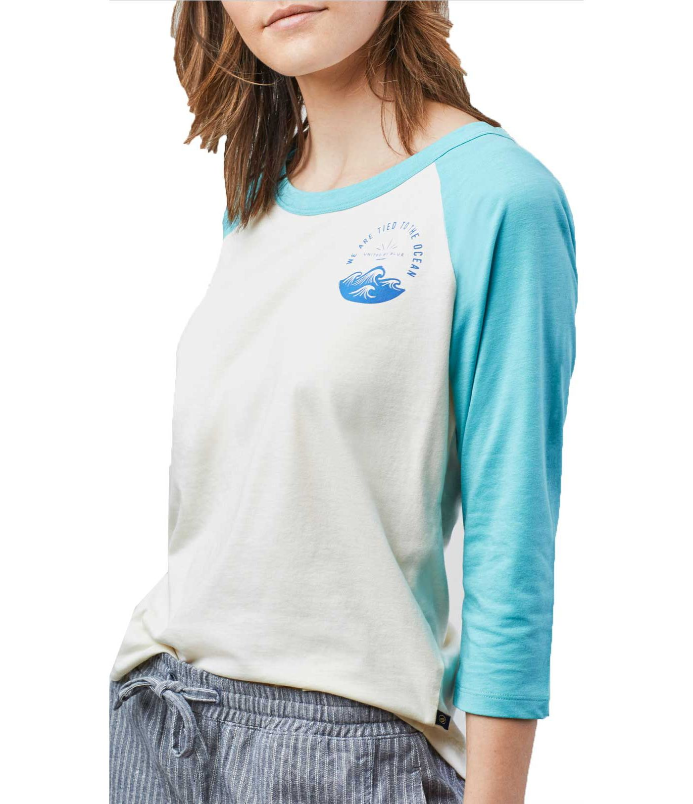 United by Blue Women's Tied To Ocean Long Sleeve T-Shirt