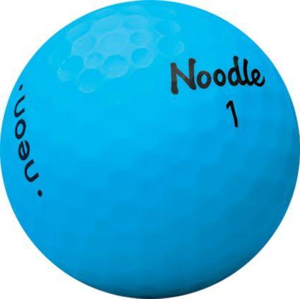 Noodle 2018 Neon Golf Balls – Matte Blue