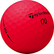 TaylorMade 2018 Project (s) Matte Red Golf Balls