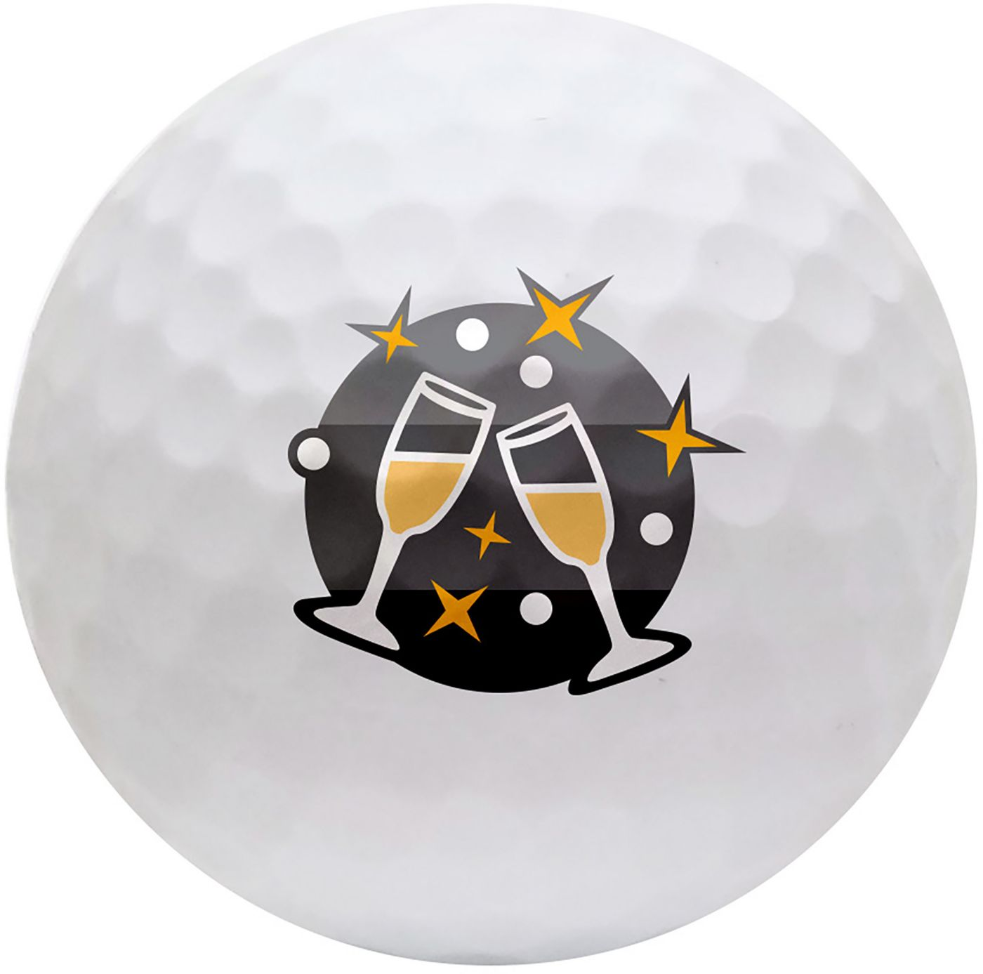 TaylorMade 2019 TP5x Holiday Novelty Golf Balls