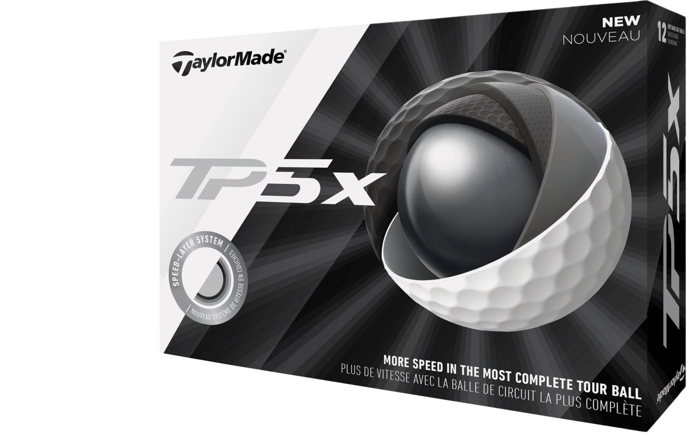 TaylorMade 2019 TP5x Personalized Golf Balls