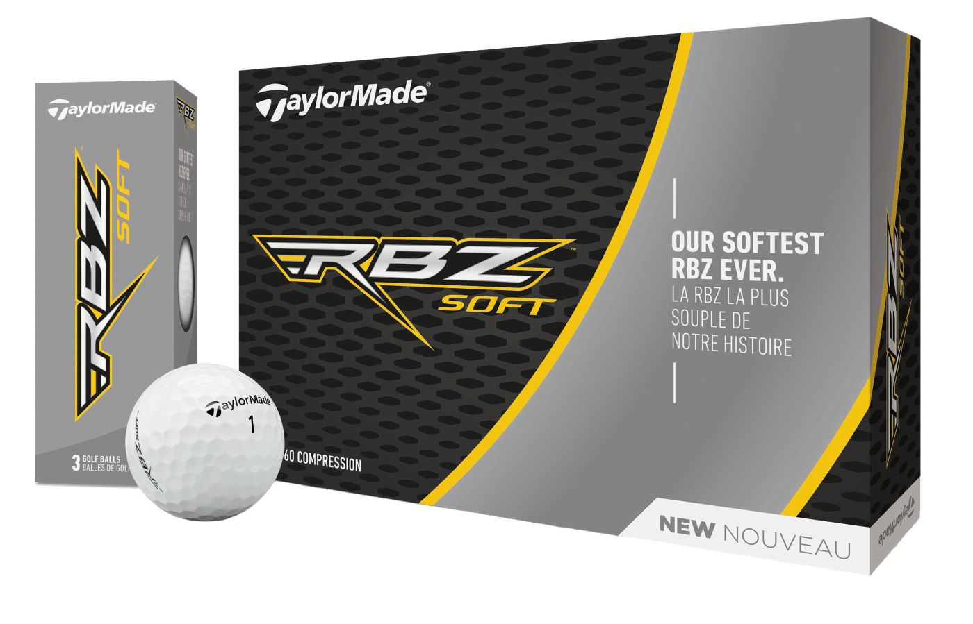 TaylorMade 2019 RBZ Soft Golf Balls