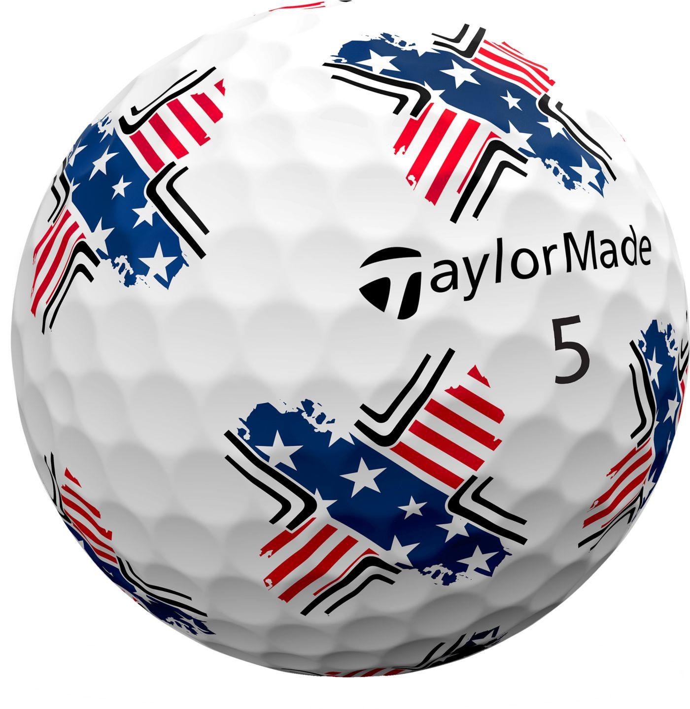TaylorMade 2019 TP5 Pix USA Golf Balls
