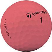 TaylorMade Women's 2019 Kalea Matte Peach Golf Balls
