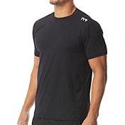 TYR Men's Short Sleeve Rash Guard