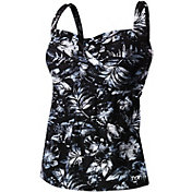 TYR Women's Plus Size Boca Twisted Bra Tankini Top