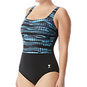 TYR Women's Scoop Neck Controlfit One Piece Swimsuit