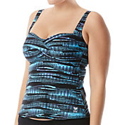 TYR Women's Byron Bay Twisted Bra Tankini Top