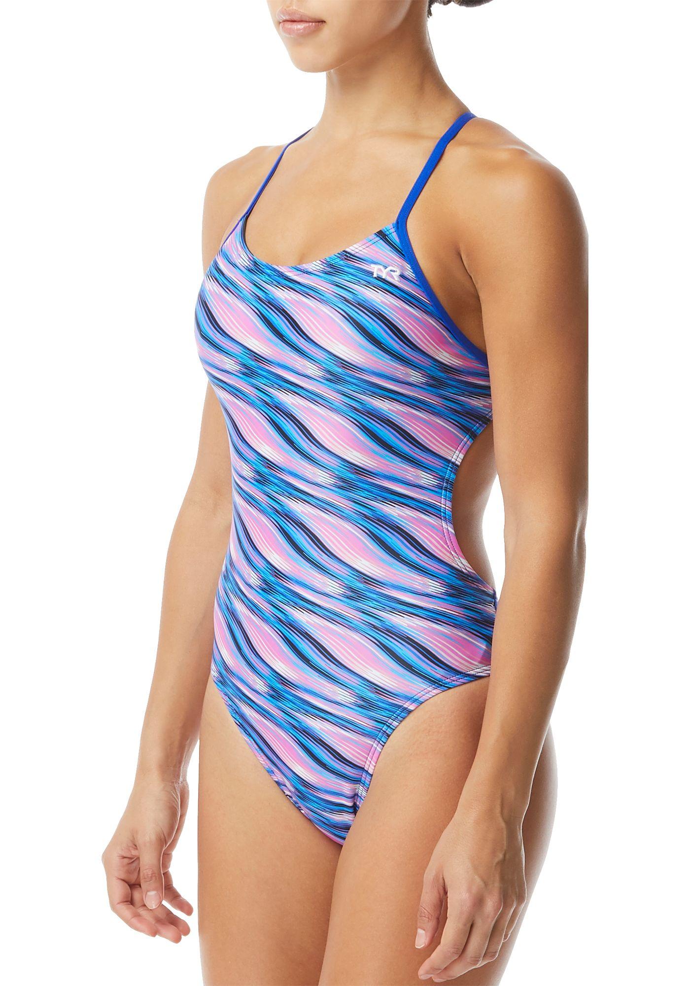 TYR Women's Adrift Cutoutfit One Piece Swimsuit