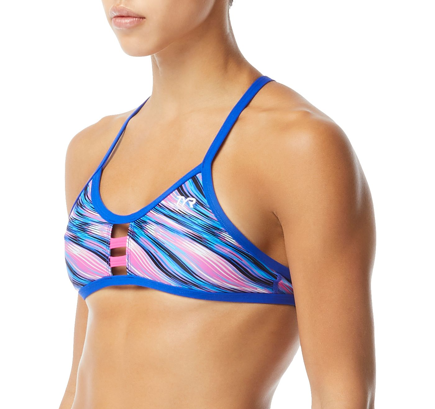 TYR Women's Adrift Pacific Tieback Bikini Top