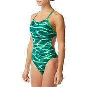 TYR Women's Lambent Cutoutfit One Piece Swimsuit