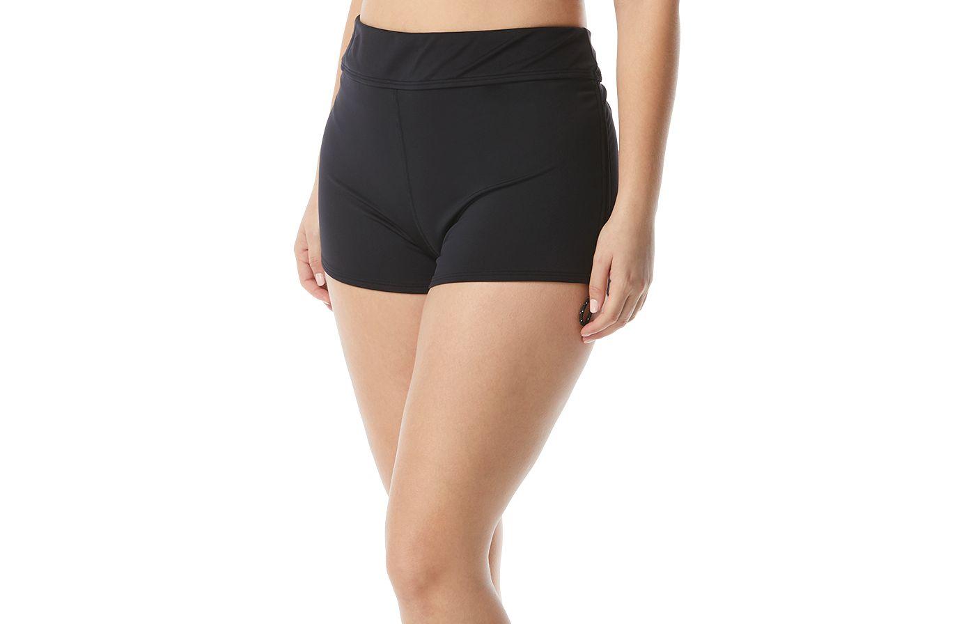 TYR Women's Plus Size Della Swim Boy Shorts