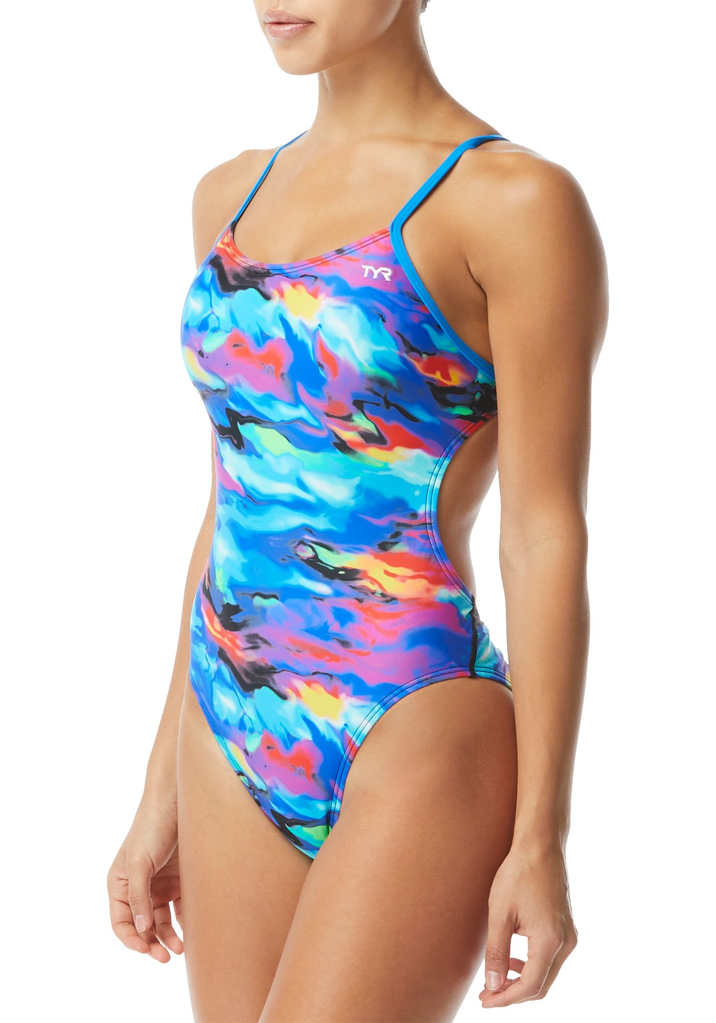 TYR Women's Synthesis Cutoutfit One Piece Swimsuit