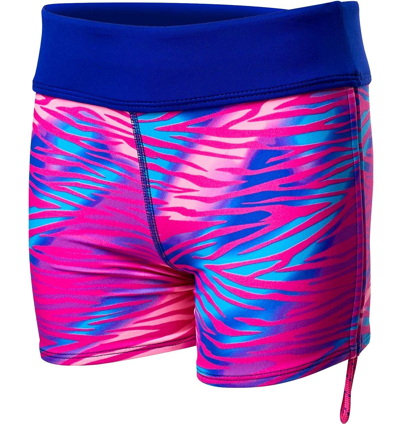TYR Girls' Della Swim Boy Shorts
