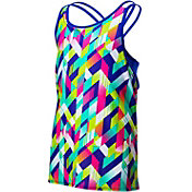 TYR Girls' Olivia 2-in-1 Tankini Top