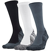 Under Armour Men's Elevated Performance Crew Socks 3 Pack