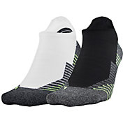 Under Armour Run 2.0 No Show Tab Socks 2-Pack