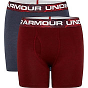 Under Armour Boys' Mapped Boxers Briefs – 2 Pack