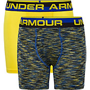 Under Armour Boys' Twist Performance Boxer Briefs – 2 Pack