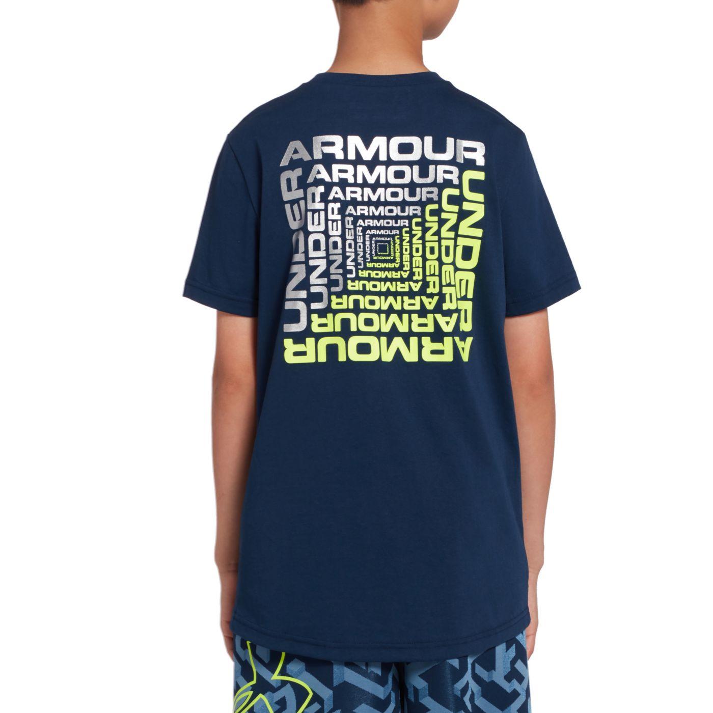 Under Armour Boys' Back Box T-Shirt