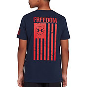 Under Armour Boys' Freedom Flag Graphic T-Shirt