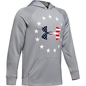 Under Armour Boys' Freedom Tech Terry Hoodie
