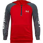 Under Armour Little Boys' Big Wordmark 1/4 Zip Hoodie