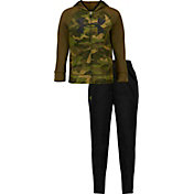 Under Armour Little Boys' Bandit Camo Hoodie and Pants Track Set
