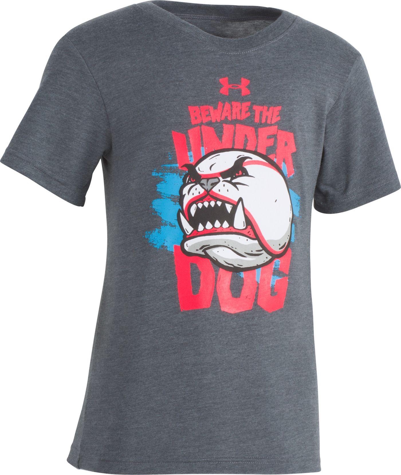 Under Armour Little Boys' Beware The Underdog Graphic T-Shirt