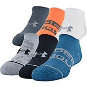 Under Armour Boys' Essential Life No Show Socks
