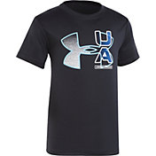 Under Armour Little Boys' Fade Logo T-Shirt