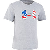 Under Armour Little Boys' Flag Icon Graphic T-Shirt
