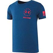 Under Armour Boy's Freedom Flag T-Shirt