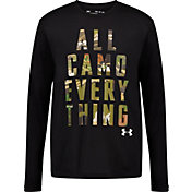 Under Armour Boys' All Camo Everything Long Sleeve T-Shirt