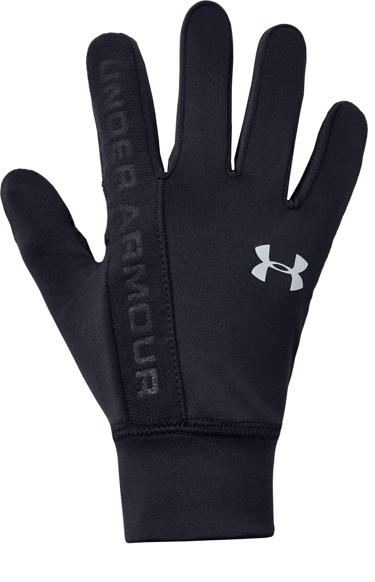 Under Armour Boy's Liner Gloves, Size: Small, Black