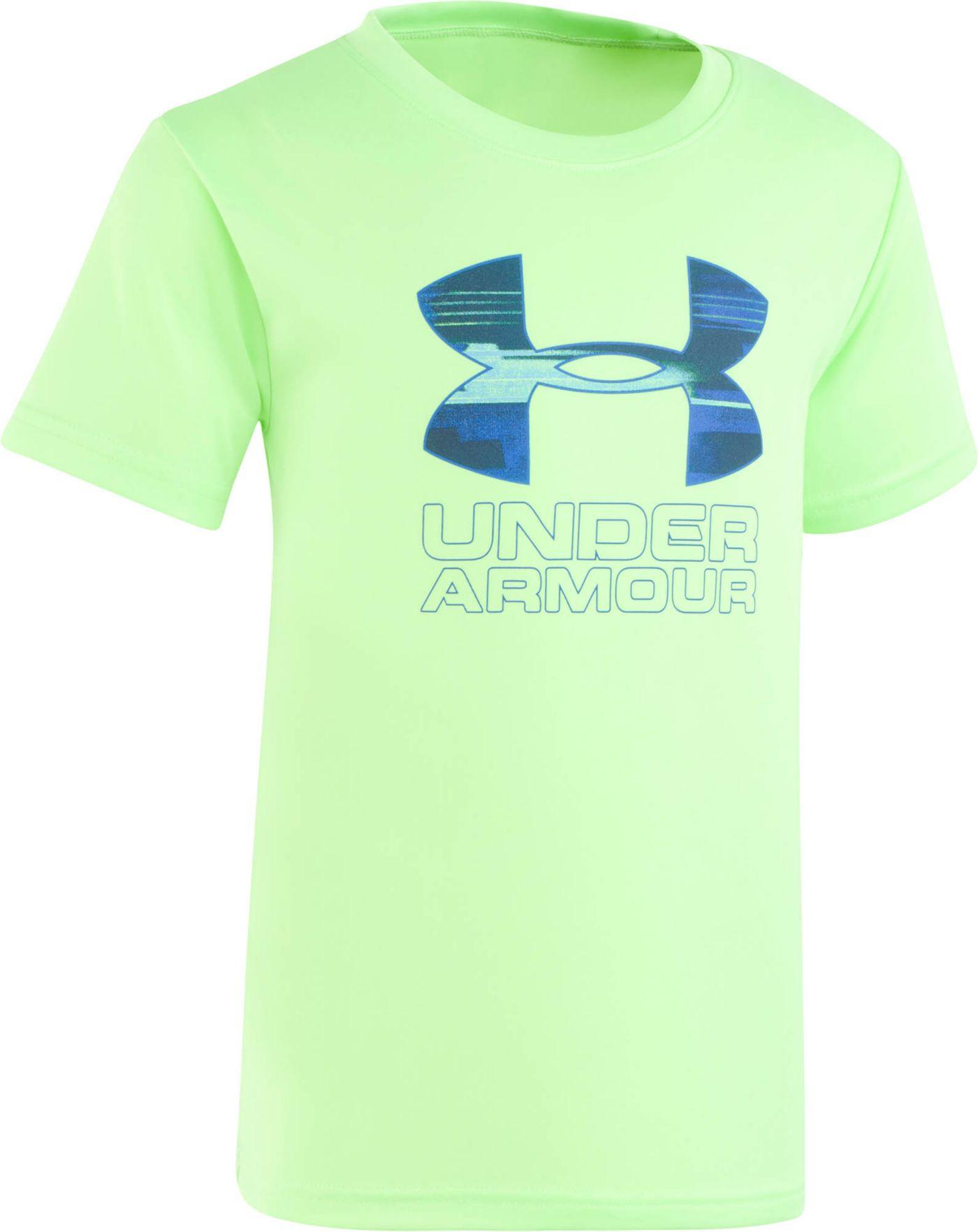 Under Armour Little Boys' Boys' Latitude Big Logo T-Shirt