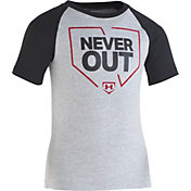Under Armour Little Boys' Never Out Graphic Raglan T-Shirt
