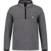 Under Armour Little Boys' Polar Fleece 1/4 Zip Long Sleeve Shirt
