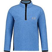 Under Armour Little Boys' Polar Fleece 1/4 Zip Long Sleeve Shirt