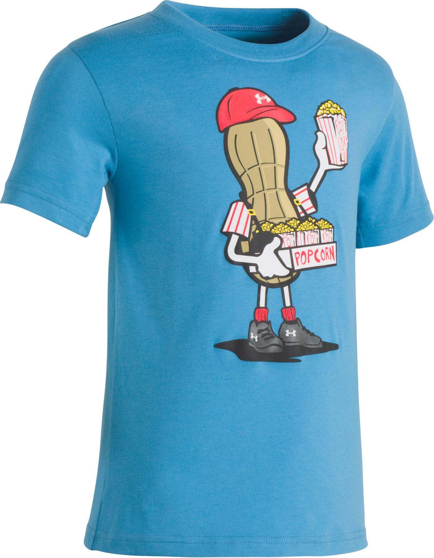 Under Armour Little Boys' Popcorn Peanut Graphic T-Shirt