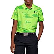 Under Armour Boys' Performance 2.0 Camo Golf Polo