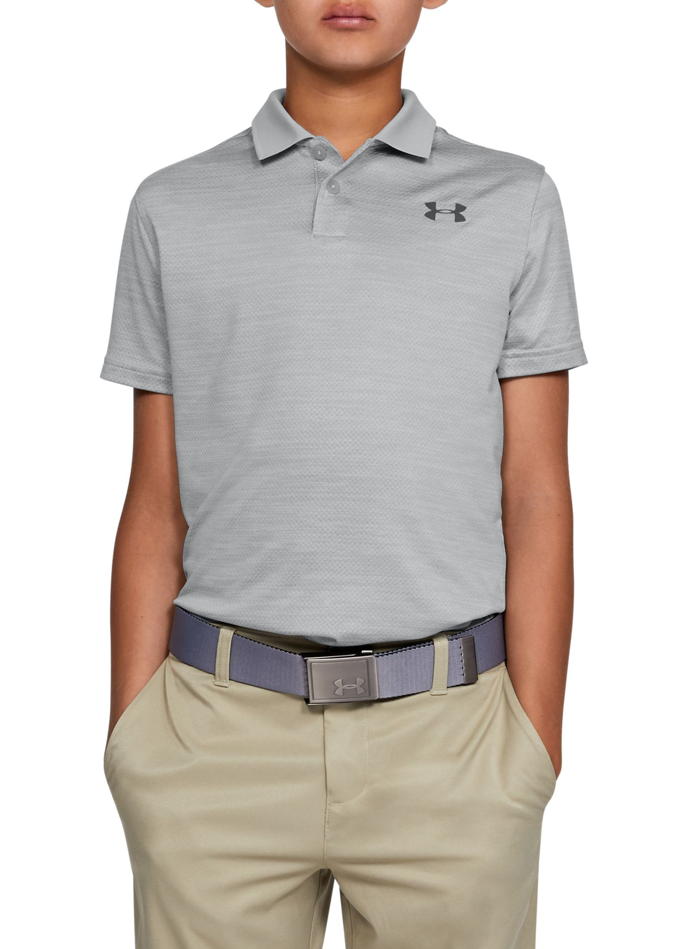 Under Armour Boys' Performance 2.0 Golf Polo
