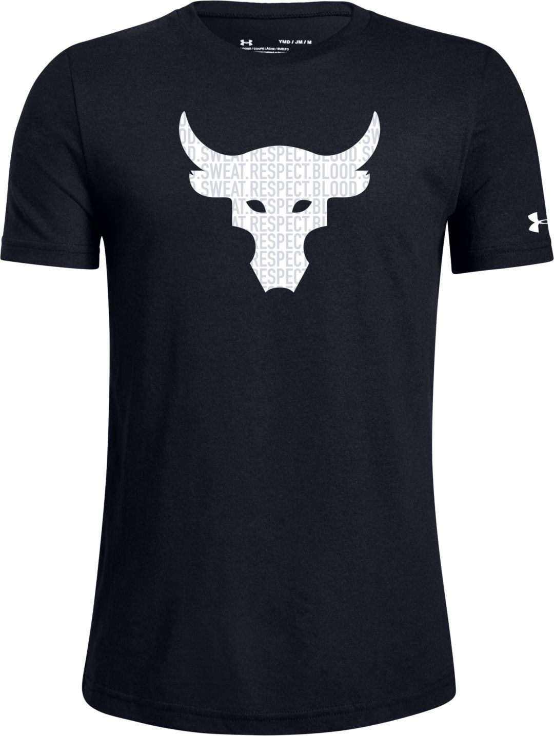 Under Armour Boys' Project Rock Brahma Bull Graphic T Shirt