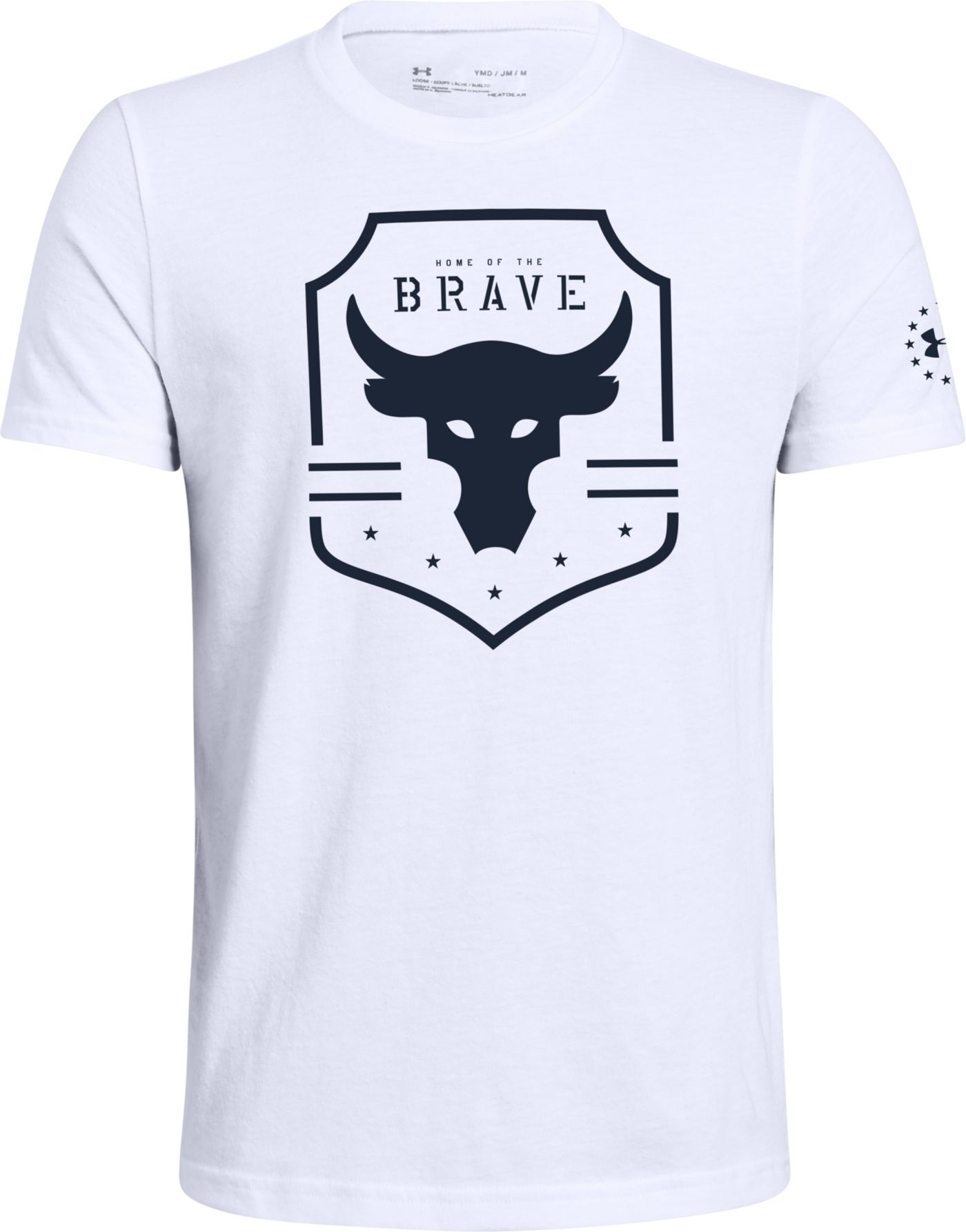 Under Armour Boy's Project Rock Brave T-Shirt