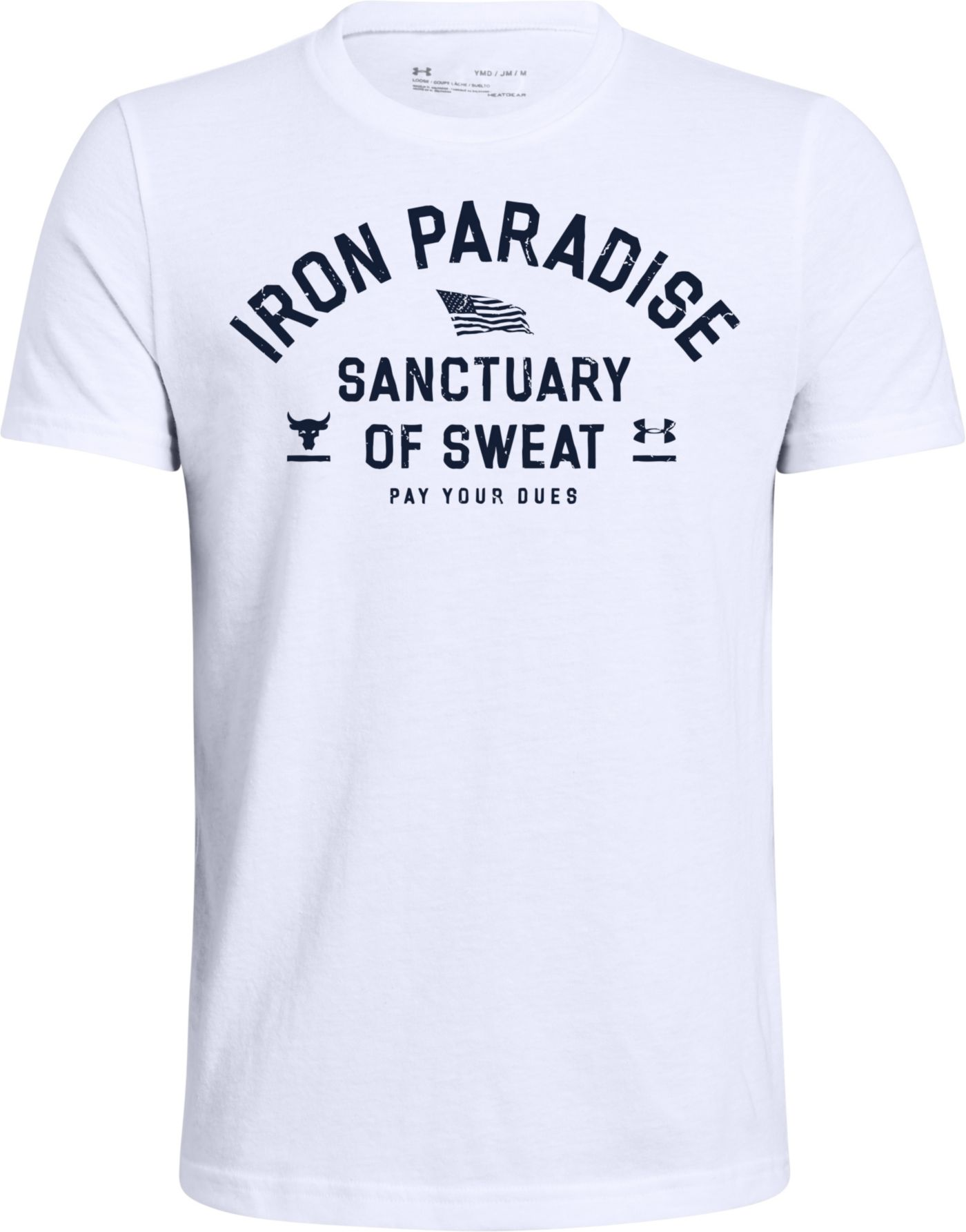 Under Armour Boys' Project Rock Iron Paradise Graphic T-Shirt