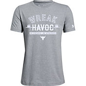 Under Armour Boys' Project Rock Wreak Havoc Graphic T-Shirt