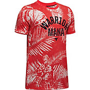 Under Armour Boys' Project Rock Warrior Mana Graphic T-Shirt